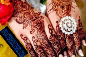 Simple and Easy Mehndi Design